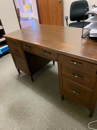 Wood desk 2